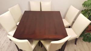 "table carrée 54"""