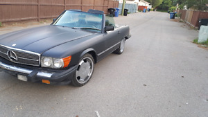 1988 mercedes 560 sl awesome car!!