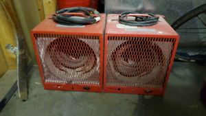 2 bad ass heaters
