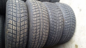 Winter tire set with rims 205/65r15