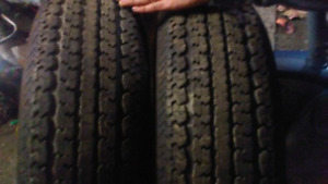 Two trailer tire size st235/80r16
