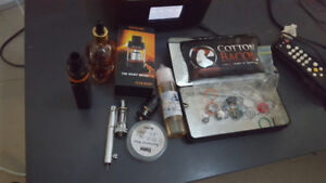 Cuboid mini with baby beast atomizer xtra glass box 2 other tank