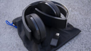 Ps4 platinum wireless headset and game account