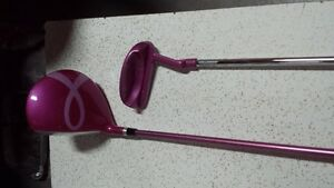 Ladies oversized driver and putter Wilson Like new