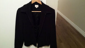ladies cleo black blazer