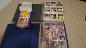 3 sets of baseball cards