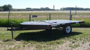 Finance It...oac  NEW 2015 2-PLACE SNOWMOBILE/QUAD TRAILER