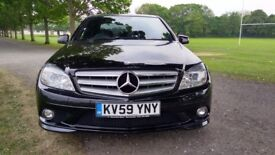 Mercedes C Class C 220 CDI BLUEEFFICIENCY Good / Bad Credit Car Finance (black) 2009