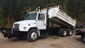 Freightliner Dump Truck with Snow Plow Prince George British Columbia image 3