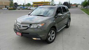 2007 Acura MDX, Tech PKG, Certified, 3 years warranty available