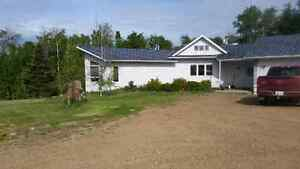 House and acreage for sale