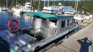 Aluminum Commercial Registered Passenger Water Taxi-Charter