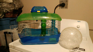 Hamster cage AND Ball