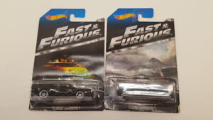 Lot de 2 Voiturettes Hot Wheels Fast & furious