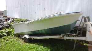 1967 boat with trailer
