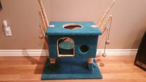Cat playground and bed