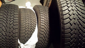 Goodyear Nordic Winter 225 65 R16 Directional Made in 2013.