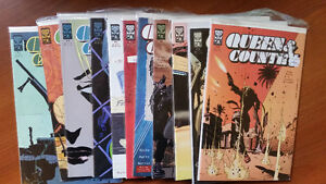 QUEEN & COUNTRY #1-9,11,12 GREG RUCKA ONI PRESS NM
