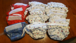 13 Infant Cloth Diapers