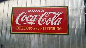 1938 St Thomas Sign Co.  Coca Cola sign