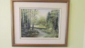 "LOCAL LISTED ARTIST""M K ROTH"" OIL ON BOARD ORIGINAL  PAINTING"
