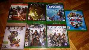 XBOX One Action Games (Various Prices)