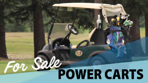 Electric Golf Power Carts