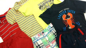 (47G) T-shirts, polos, shorts for boys