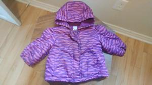 Girls Jacket 6-12 mts 10$
