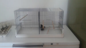 Bird cage with devider  $35 OBO