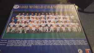 1992 blue jays world championships team photo London Ontario image 1