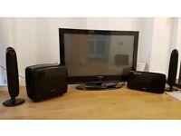 "Samsung 42"" Plasma Display TV and surround sound!"