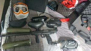 Tippman ft-12 + jt proflex helmet and accesories