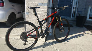 2015 CARBON TREK SUPERFLY FS 9.8SL
