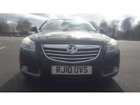 Vauxhall Insignia 1.8I 16V VVT EXCLUSIV Good / Bad Credit Car Finance (black) 2010