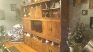 """3-Part Wall Unit (Holds up to 32"""" TV)"""