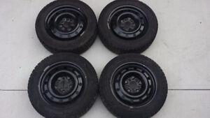 Mazda 3 Winter Tires 205/55R16 on Steel Rims (set of 4)