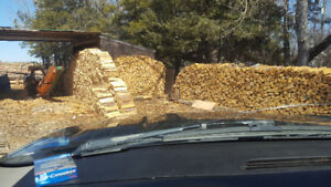 Quality Seasoned Firewood, Deliverd and Stacked!!!