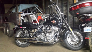 Want to trade Harley FXRS for fuel injected harley or victory