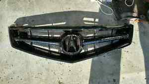 Blacked out tsx grill