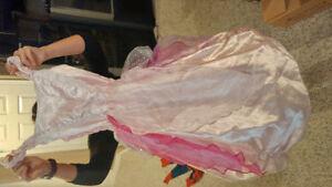 Pink princess dress size lrg Cambridge Kitchener Area image 1