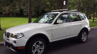 2008 BMW X3 3.0i SUV (Only White Model In Eastern Ontario)