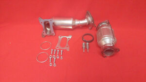 Fit Acura Tsx 2.4L Front+Rear Manifold Catalytic Converter