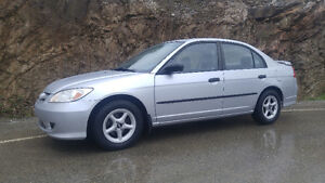 HONDA CIVIC 2005 ***** 160000KM AIR CLIMATISÉ 2995$******
