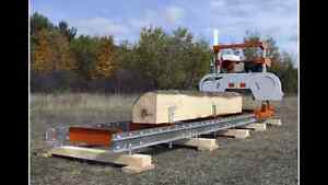 Fresh wood off the sawmill to your desired size