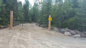 5 acres with crown land on 2 sides