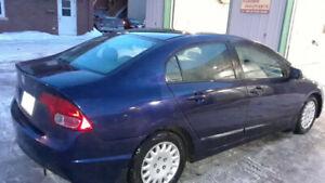 Honda Civic 2006 Automatique 188000KM - Très bon état