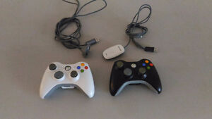 2 XBOX controllers + PC receiver