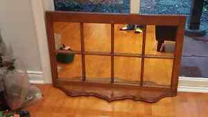 Antique Mirror, 8 panes with or without shelf Kitchener / Waterloo Kitchener Area image 2