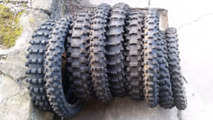Used dirtbike tires $10-40